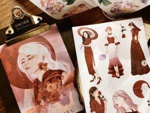 紙膠帶,插畫家,陳力瑜