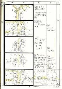 宮崎駿,layout,分鏡,動畫製作流程